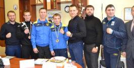 С прицелом на Токио-2020 — в Запорожье встретили медалистов чемпионата Украины по боксу