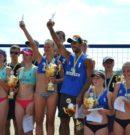 Запорожские пляжные волейболисты открыли сезон медалями чемпионата Украины