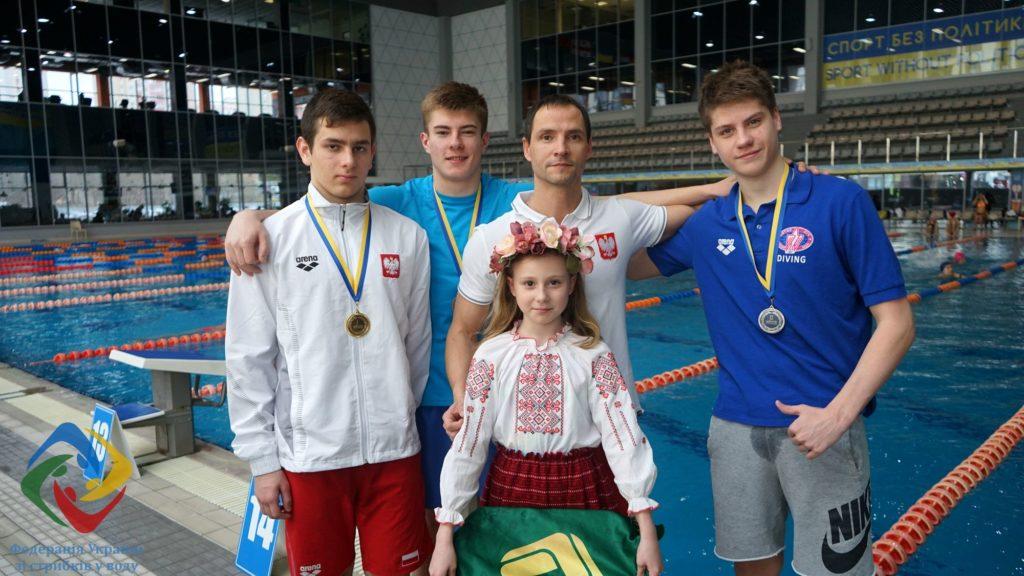 Запорожец стал медалистом Кубка Украины по прыжкам в воду