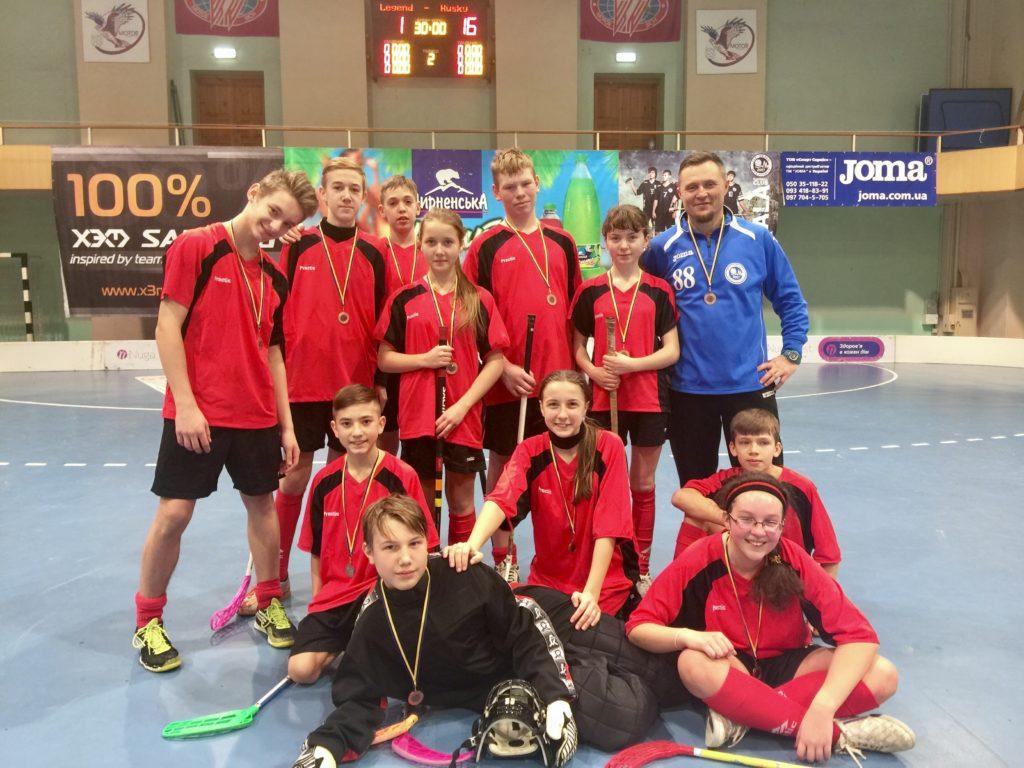 floorball junior team participated - 869×651